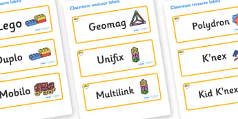 Fruit Themed Editable Construction Area Resource Labels - Themed Construction resource labels, Label template, Resource Label, Name Labels, Editable Labels, Drawer Labels, KS1 Labels, Foundation Labels, Foundation Stage Labels
