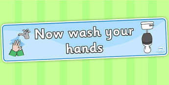 Toilet Area Sign - Classroom Area Signs, KS1, Banner, wash hands,  toilet, toilets, boys, girls, Foundation Stage Area Signs, Classroom labels, Area labels, Area Signs, Classroom Areas, Poster, Display, Areas