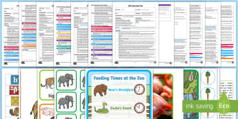 EYFS The Zoo-Themed  Adult Input Planning and Resource Pack  -  Early Years Planning, Adult Led, Dear Zoo, At the Zoo, Animals, Zookeeper, Tiger, Elephant, zebra,