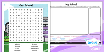 French: Our School Year 3 Home Learning Tasks