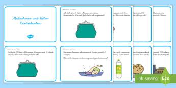 Malnehmen und Teilen : DIN A4 Karteikarten - Malnehmen und Teilen, Karteikarten DIN A4, Übungen, Malnehmen, Teilen, Multiplizieren, Multiplikati - Malnehmen und Teilen, Karteikarten DIN A4, Übungen, Malnehmen, Teilen, Multiplizieren, Multiplikati