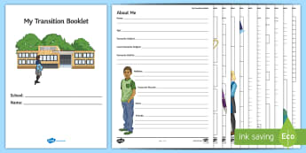 My Secondary Transition Pupil Activity Booklet - Secondary Transition Resources, pupil booklet, form time, transition, induction, taster day,