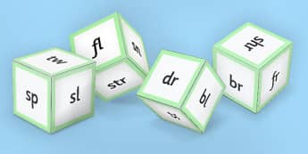 Phase 4 Initial Blends Dice Nets - phase 4, initial blend, dice, sound
