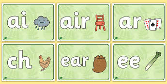 Phase 3 Phonics Signs - phase 3, phonics, signs, display, phase, 3