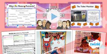 Art: British Art: Memory Postcards LKS2 Lesson Pack 3