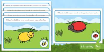 Tapiz de plastilina: Los bichos - libélula, abeja, caracol, hormiga, típula, escarabajo, mariposa, oruga, gusano, mariquita, cochini