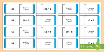 Il domino dei numeri Attività - gioco, da, tavola, valore, posizionale, gioco, matematica, numeri, operazioni, italiano, italian, ma