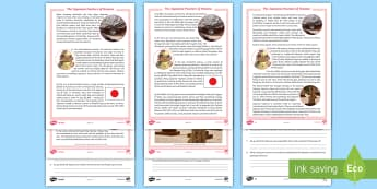The Japanese Pearlers of Broome Differentiated Reading Comprehension Activity - Australia, HASS, history, migration, migrate, stories, colony, convicts, family histories, 1800s, AC