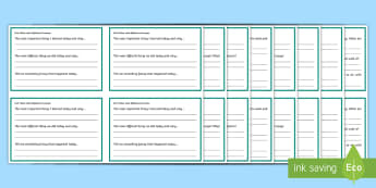 Exit Pass With Reflective Prompts Challenge Cards - Assessment Resources, Aifl, assessment is for learning, exit pass, exit ticket, reflection, lear