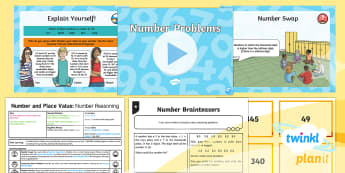 PlanIt Y5 Number and Place Value Lesson Pack Number Problems (1) - Number, Place Value, reasoning, problem, solve, Solve number and practical problems that involve all