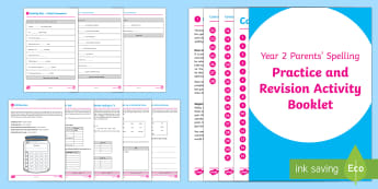 SATs Survival: Year 2 Parent's Spelling Practice and Revision Activity Booklet - SATs Survival Materials Year 2, SATs, assessment, 2017, English, SPaG, GPS, grammar, punctuation, sp