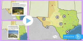 Texas Geographical Picture Hotspots - United States History, State history, Texas, Texas Landforms, Texas Regions, Texas Mountains, Texas