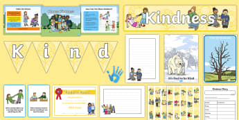 Kindness Day Resource Pack - kindness, caring, relationships, friendships
