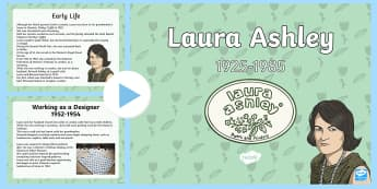 Laura Ashley Information PowerPoint - Wynebau Enwog Cymru, Enwog, Wynebau Cymru, Hanes. Hedd Wyn, poet, bard, Rhyfel Byd Cyntaf, First Wor