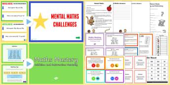 Mental Maths Games - mental maths, games, activities, ks2 - mental maths games, mental maths, games, activities, mental arithmetic