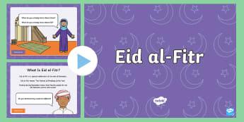 What Is Ramadan and Eid al-Fitr? PowerPoint - islam, muslim, festival, ramadan, fasting, celebration, religion, culture
