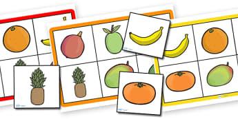 Handas Surprise Fruit Bingo - handas surprise, fruit bingo, bingo, themed bingo, themed games, games, class game shnadas surprise games, bingo games