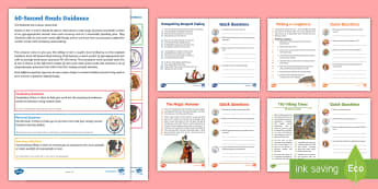 UKS2 60-Second Reads: Vikings Activity Pack - Ninety Words Per Minute, Speed Read, Sixty Second Reads, Assessment, Reading, Timed Reading, reading