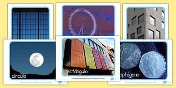 2D Shape Display Photos Spanish - spanish, 2d shape, display photos, display, photos, 2d, shape