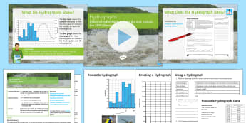 Hydrographs Lesson Pack - boscastle, flooding, rivers, ks4, geography