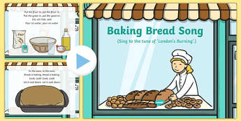 Baking Bread Song PowerPoint