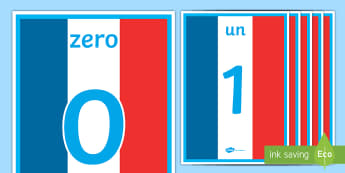 French Numbers 0-100 Display Poster - French Numbers 0-100 Display Poster - number, french, 1-100, hundred, one, france, numbers, nombes,