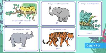 Ronald The Rhino Animals A4 Display Poster - Ronald the Rhino, Twinkl story book, animals, posters, display, jungle animals