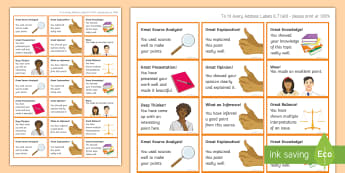 Time-Saving History Praise Stickers - Praise, Stickers, Time-Saving, Presentation, Source Analysis, Explanation, Balance, Inference