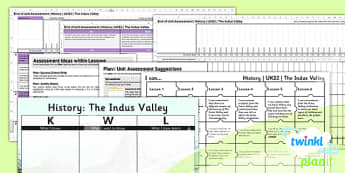 History: The Indus Valley Civilisation UKS2 Unit Assessment Pack
