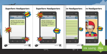 Superhero Headquarters Mobile Phone Activity - Marvel, DC Comics, Bat Mat, Super Man, Spider Man, Wonder Woman, Super Girl