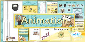 PlanIt - Computing Year 4 - Animation Unit Additional Resources - planit, computing, unit
