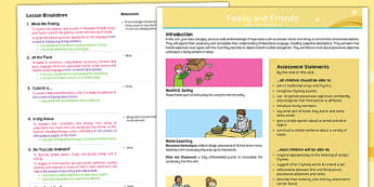 French: Family and Friends Year 5 Overview
