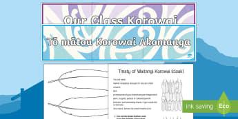 Waitangi Day Korowai Art activity - Waitangi Day, Treaty of Waitangi, korowai, tiriti o waitangi, kiwi, kiwiana