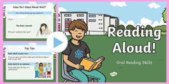 Reading Aloud (Oral Reading Skills) PowerPoint