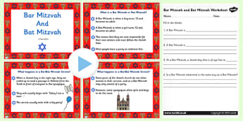Judaism Bar Mitzvah and Bat Mitzvah Information PowerPoint - judaism, bar mitzvah, bat mitzvah, powerpoint, judaism powerpoint, bar mitzvah powerpoint, judiasm