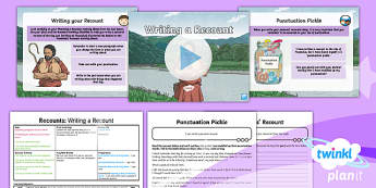 PlanIt Y4 Myths and Legends: Romulus and Remus Lesson Pack Recounts 3 - Myths and Legends: Romulus and Remus, Romans, ancient, Rome, recount, personal recount, first person