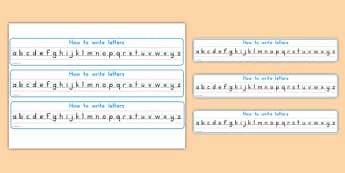 How To Write Letters Alphabet Strips - usa, america, how to write, letters, how, write, alphabet strips, alphabet, strip