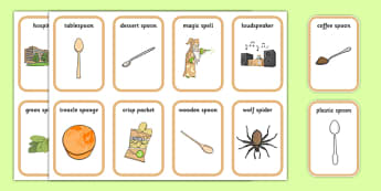 Word Medial SP Playing Cards Three Syllable Words - speech sounds, phonology, articulation, speech therapy, cluster reduction
