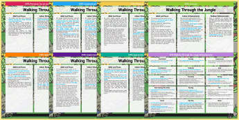 EYFS Lesson Plan and Enhancement Ideas to Support Teaching on Walking Through the Jungle - planning, adult led, Julie Lacome, EYFS