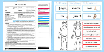 Doctor, Doctor Make Me Well EYFS Adult Input Plan and Resource Pack - EYFS, planning, all about me, ourselves, my body