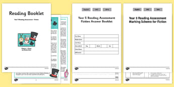 Year 5 Reading Assessment: Fiction Term 2 - year 5, reading, assessment, fiction, term 2