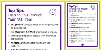 Top Tips to Help You Survive Your NQT Year - top tips, help, survive, nqt year
