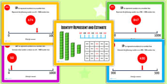 Year 3 Idenitfy Represent and Estimate Lesson 2 Teaching Pack