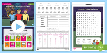 Year 2 Term 1A Week 6 Spelling Pack - Spelling Lists, Word Lists, Autumn Term, List Pack, SPaG
