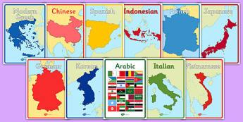 Australian Curriculum Languages Book Covers - australia, curriculum, languages, book cover