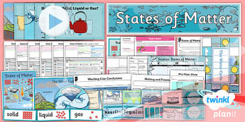 PlanIt - Science Year 4 - States of Matter Unit Pack - planit, science, unit, pack