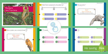 3rd Grade Numbers Fractions Assessment Practice Quick Quiz - Common Core Math, numbers fractions, NF, eoy, boy, moy, online assessments
