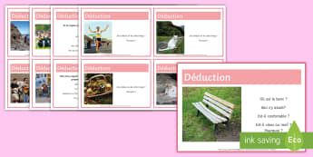 French Inference Differentiated Cards - KS4, French, Inference, Resources,cards, GCSE, exam, preparation, speaking, reading, thinking, skill