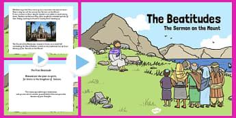 The Beatitudes PowerPoint - Beatitudes, PowerPoint, Sermon