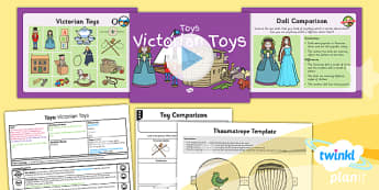 History: Toys: Victorian Toys KS1 Lesson Pack 4